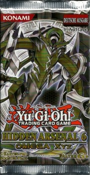 Yu-Gi-Oh! Hidden Arsenal 5 Booster (deutsch)