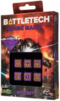 Battletech House Marik D6 Dice set (6) – Bild 1