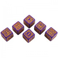 Battletech House Marik D6 Dice set (6) – Bild 2