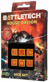 Battletech House Davion D6 Dice set (6) – Bild 1