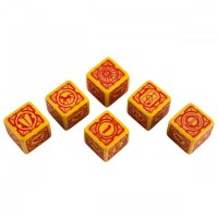 Battletech House Davion D6 Dice set (6) – Bild 2