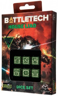 Battletech House Liao D6 Dice set (6) – Bild 1