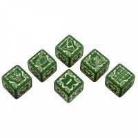 Battletech House Liao D6 Dice set (6) – Bild 2