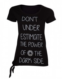 Star Wars Rogue One - Don't Underestimate The Dark Side Female T-Shirt Size M