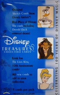 Disney Treasures Collectible Cards