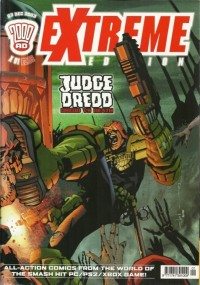 2000 AD Extreme Edition Judge Dredd Dredd vs Death Comic
