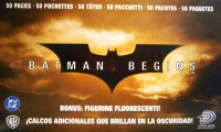Batman Begins Sticker Booster Display (50 Stück)
