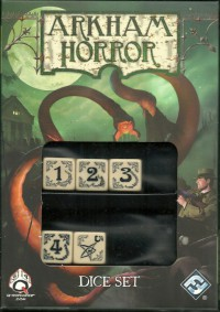 Arkham Horror Dice Set (5)