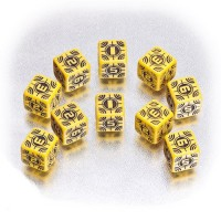Axis & Allis - Sniper Dice: Yellow/Black (5)