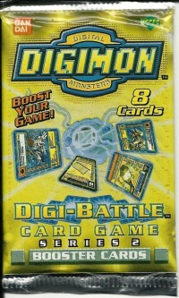 Digimon Booster - Digi-Battle - Series 2 englisch