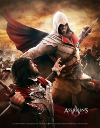 Assassins Creed Wallscroll Death from Above