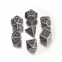 Celtic 3D Dice Gray/Black (7)