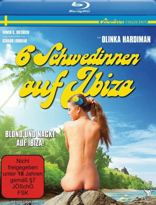 6 Schwedinnen auf Ibiza